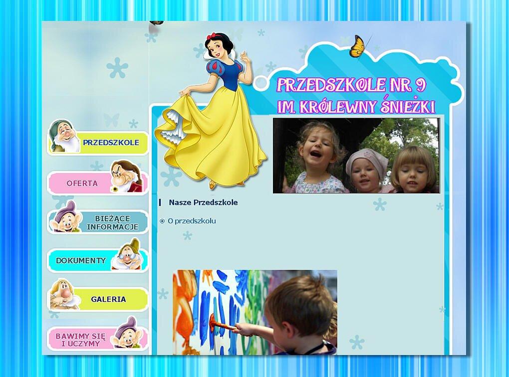 Strona dla przedszkola